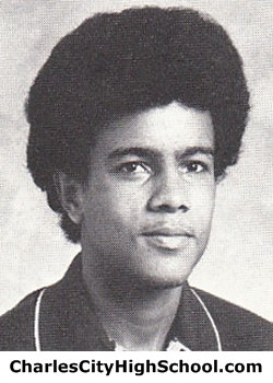 James Brown Yearbook Picture