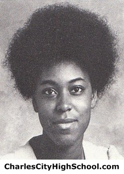 Blanche Ghee Yearbook Picture