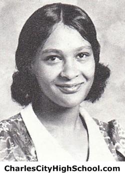Danette Jones Yearbook Picture
