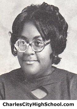Geraldine Jones Yearbook Picture