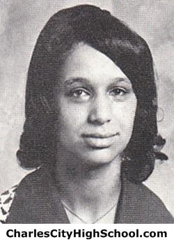 Wanda Jones Yearbook Picture