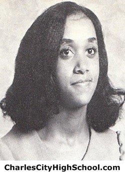 Cheryl Miles Yearbook Picture