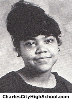 Joanne Wallace Yearbook Picture