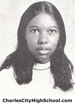 Jackie White Yearbook Picture