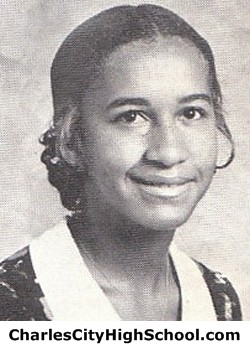 Phyllis Williams Yearbook Picture