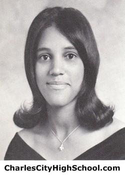 Elsie Adkins yearbook picture
