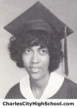 Martinella Adkins yearbook picture