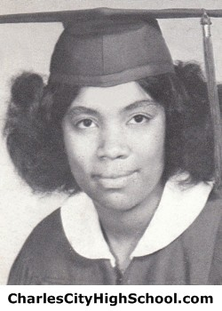 Ann Bowman yearbook picture