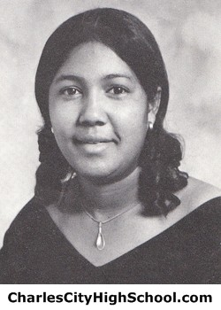 Shirlette Browman yearbook picture