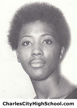 Shirley Lorraine Brown yearbook picture