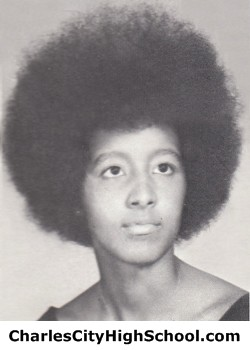 Kathy Carter yearbook picture