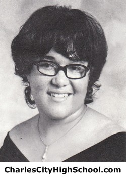 Vickie Charity yearbook picture