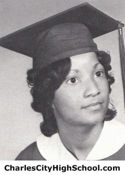 Brenda Cotman yearbook picture
