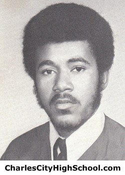 Irvin Crawley yearbook picture