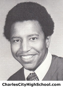 Everette Greene yearbook picture