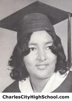 Sandra Greene yearbook picture