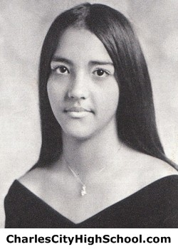 Hilda Holmes yearbook picture
