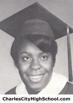 Hilda Jackson yearbook picture