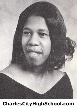 Barbara Jeferson yearbook picture
