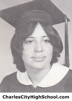 Vanessa Johnson yearbook picture