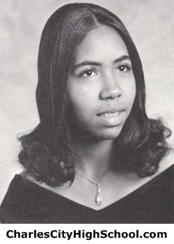 Cynthia Jones yearbook picture
