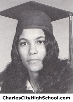 Joyce Jones yearbook picture