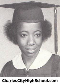 Ruby Jones yearbook picture