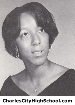 Marciann Lewis yearbook picture