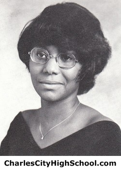 Evelyn Paige yearbook picture