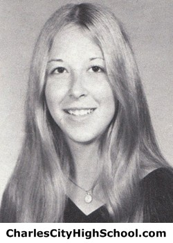 Judy Sadler yearbook picture