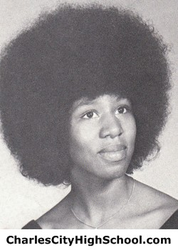 Patricia Wallace yearbook picture