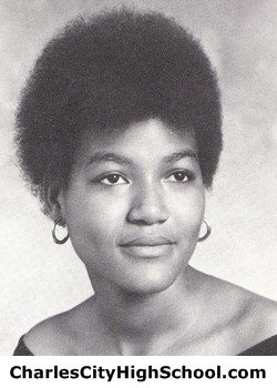 Thelma Wallace yearbook picture