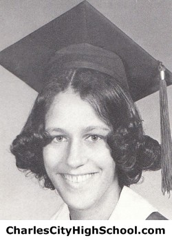 Vanita Whitehead yearbook picture