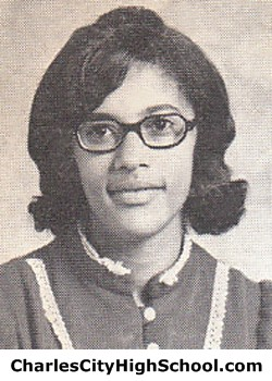 C. Adkins Yearbook Picture
