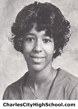 V. Brown Yearbook Picture