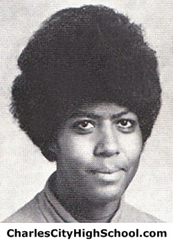 A. Hampton Yearbook Picture