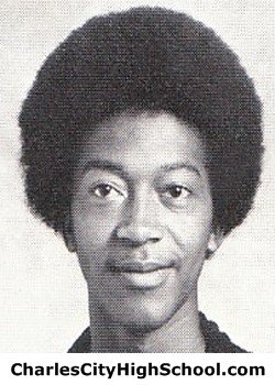 A. Johnson Yearbook Picture