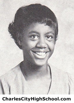 V. Payne Yearbook Picture