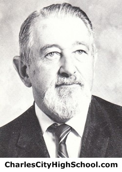 George Bachman yearbook picture