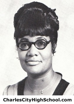 Clarice Brown yearbook picture