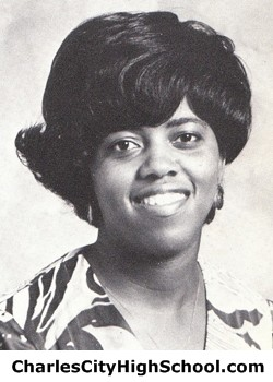 Hazel Charity yearbook picture
