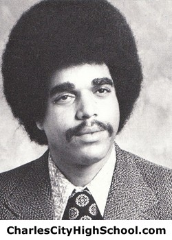 K. Charity yearbook picture