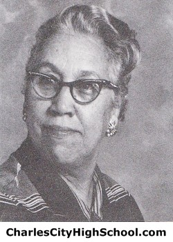Pauline Craddock yearbook picture