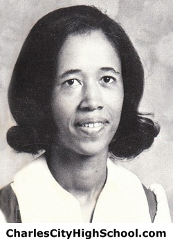 Janet Crawley yearbook picture