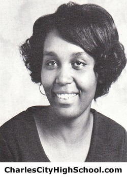 Rachel Eaddy yearbook picture
