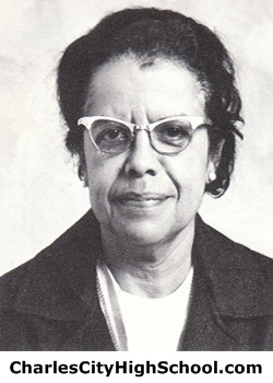 Lillian Evans yearbook picture