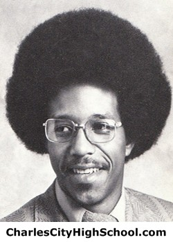 Charles Finley yearbook picture