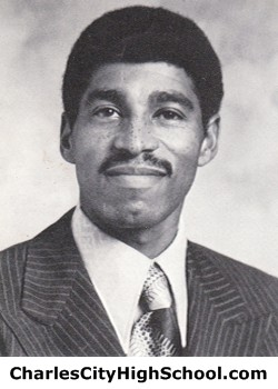 Joseph Haden yearbook picture