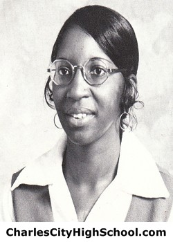 Carol Hines yearbook picture