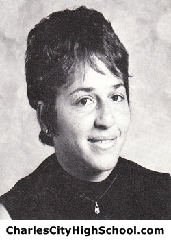 Arlene Jones yearbook picture